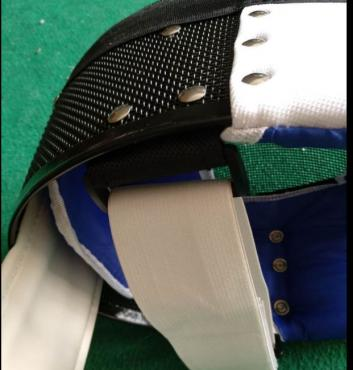 FIE Foil Masks with new fastening system